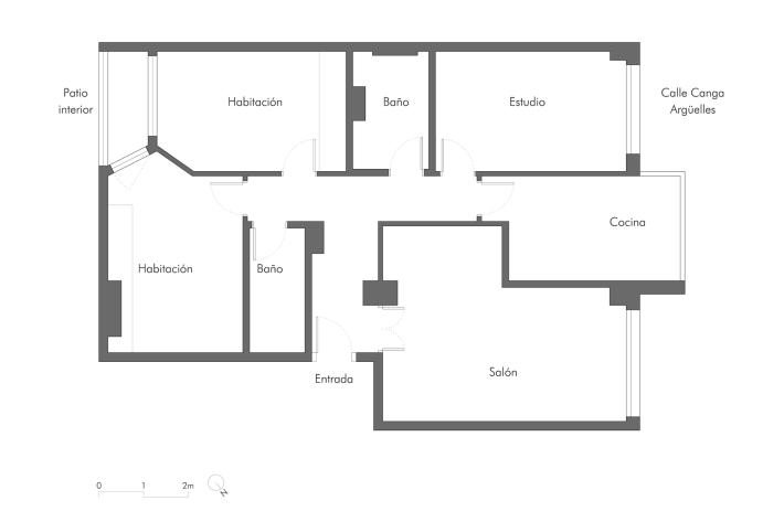 Reforma de diseño en Gijón Ezcurdia Estudio Bher 01