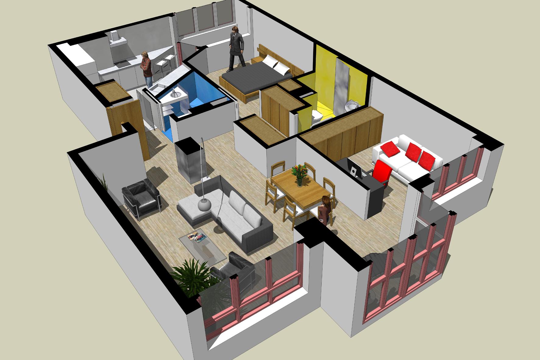 Reforma de diseño en Gijón Ezcurdia Estudio Bher 05